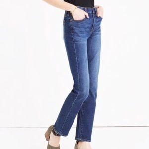 Madewell Women's Cruiser Straight Jeans 25